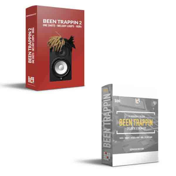 Been Trappin-1 X Been  Trappin 2 Bundle - The Producer Kit
