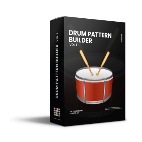 Drum Pattern Builder Vol 1 - The Producer Kit
