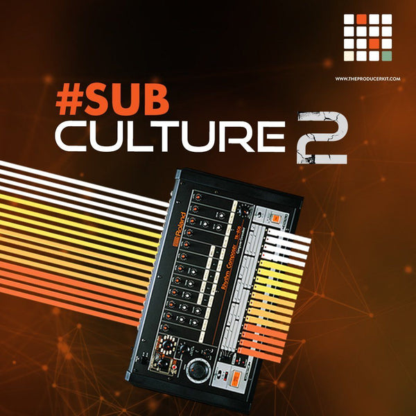 Sub Culture 2 (808s and Basses) - The Producer Kit