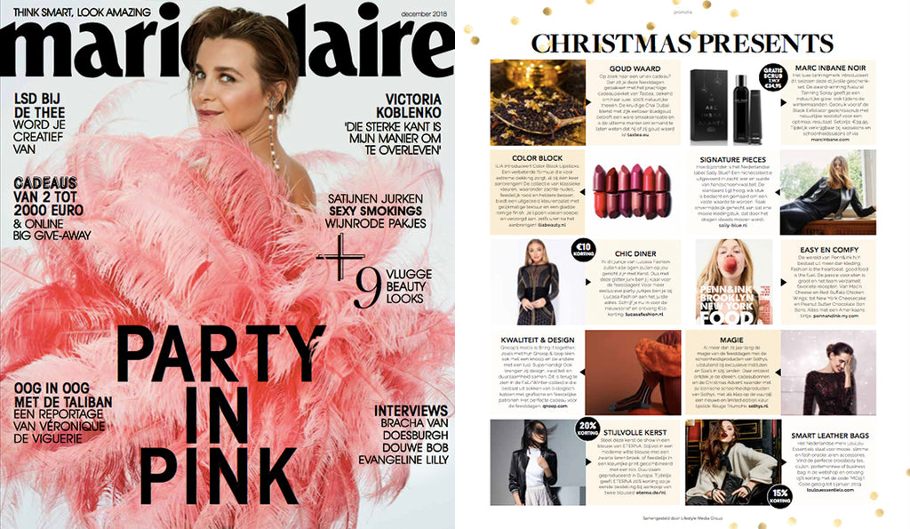 Penn&Ink FOOD in Marie Claire