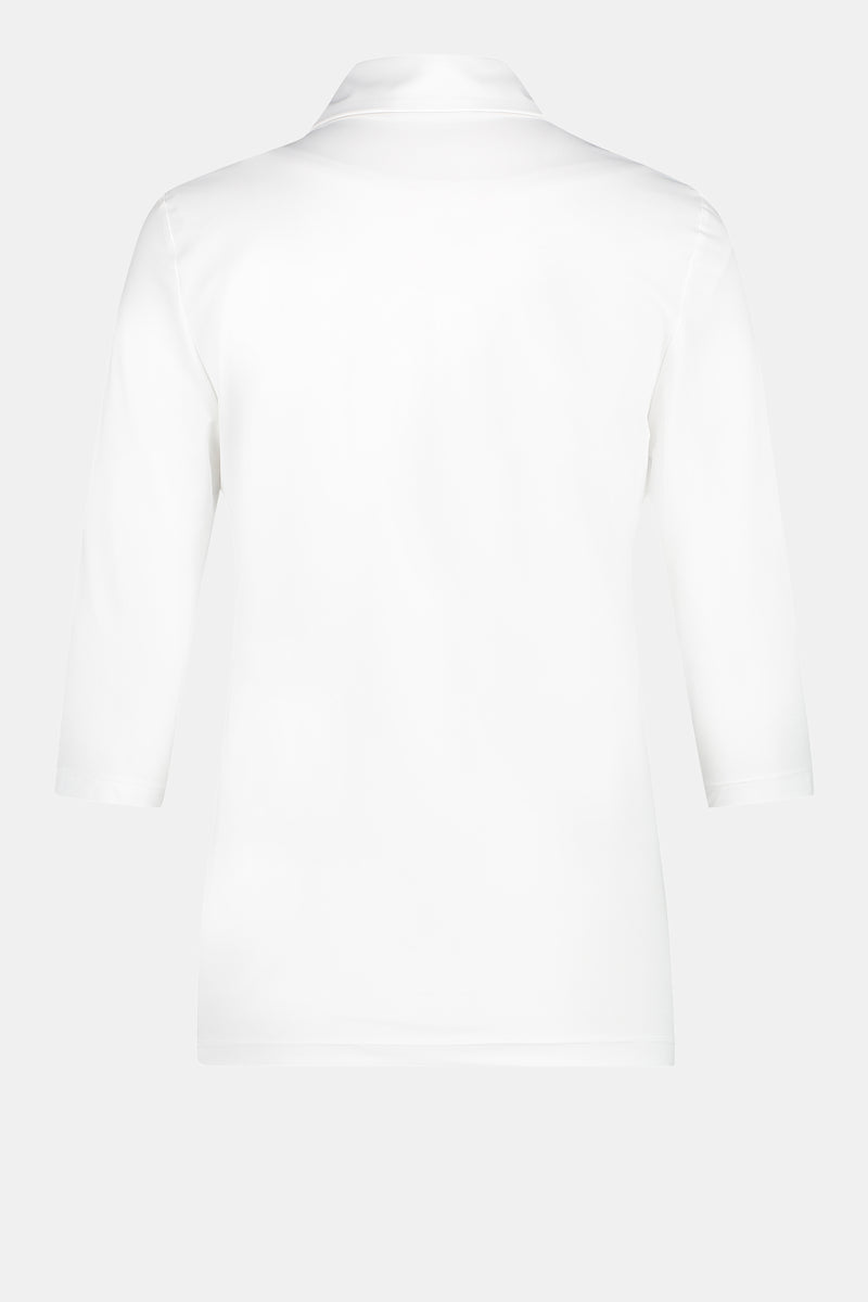 PACKSHOT BACK: PENN&INK N.Y TOP (LUX) WHITE