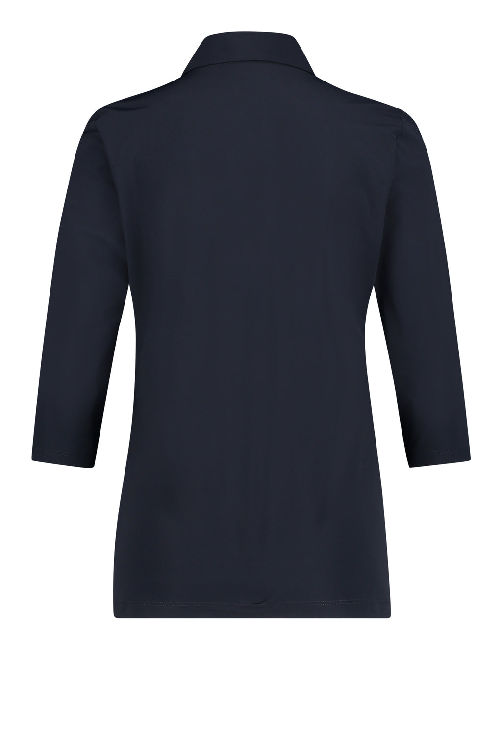 PACKSHOT BACK: PENN&INK N.Y TOP (LUX) NAVY