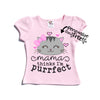 I'm Purrfect Personalized | Toddler Shirt Pink