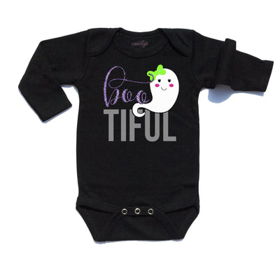 Baby Clothes - Boo-tiful Halloween Infant Bodysuit