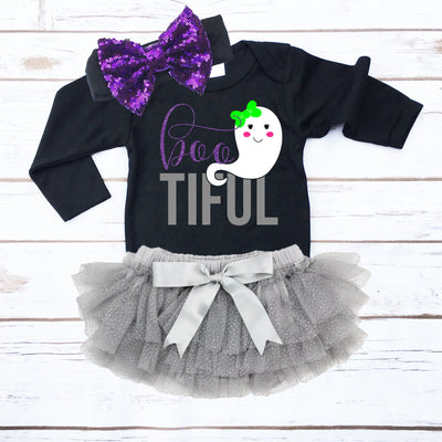 Boo-tiful Halloween Outfit | Infant - Cassidy's Closet