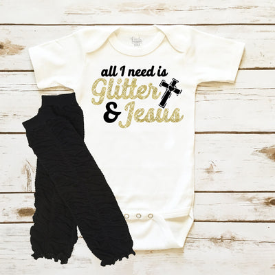 Baby Clothes - Glitter & Jesus