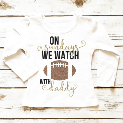 On Sundays We Watch Football | Girl's Outfit - Cassidy's Closet - 3