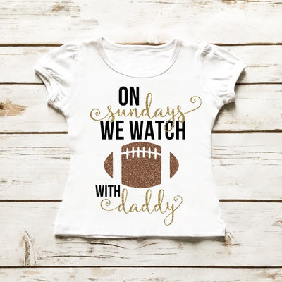 On Sundays We Watch Football | Girl's Outfit - Cassidy's Closet - 4