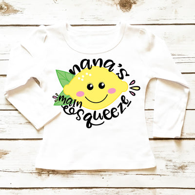 Baby Clothes - Personalized Main Squeeze | Toddler Shirt