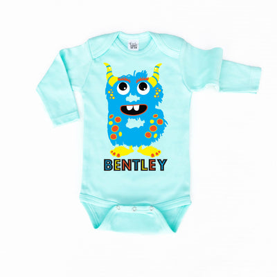 Baby Clothes - Personalized Monster | Infant MINT