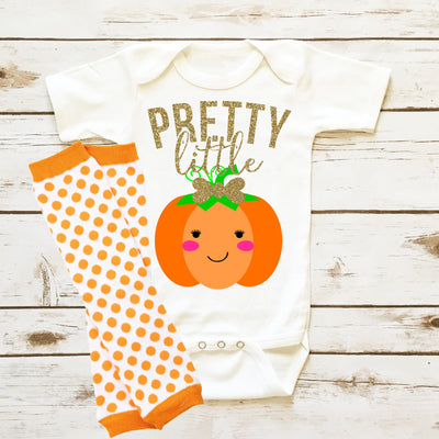 Pretty Little Pumpkin | Infant - Cassidy's Closet - 1