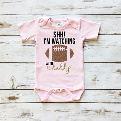 SHH! I'm Watching Football with Daddy | Pink - Cassidy's Closet - 2