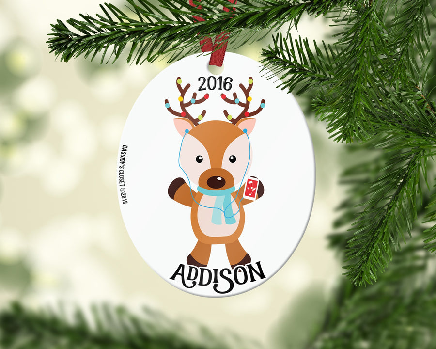 Personalized Christmas Ornament - Cassidy's Closet