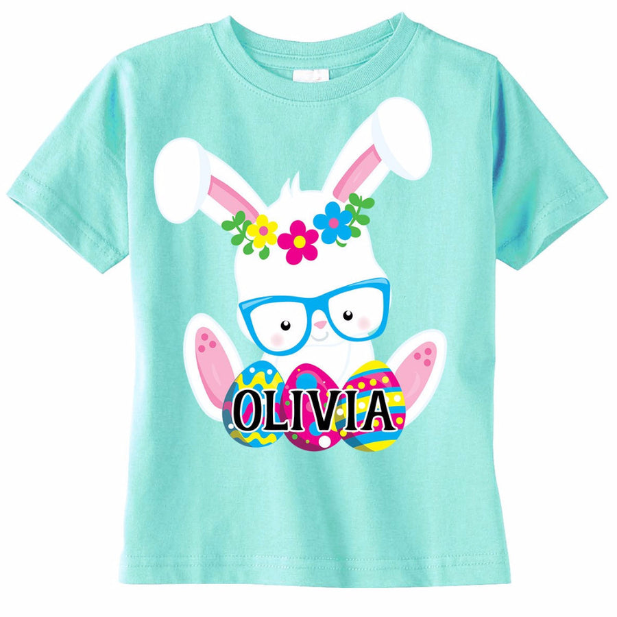Personalized Easter Toddler Girl's Shirt