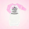 I'm Purrfect Personalized | Infant Raglan Gown