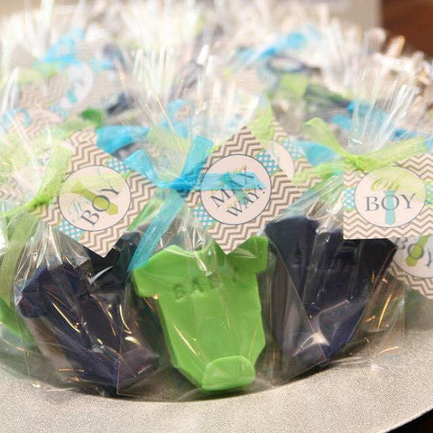 Onesie Soap Favors