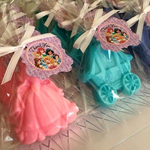 Princess Soap Favors