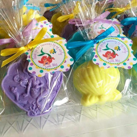 Under the Sea Soap Favors