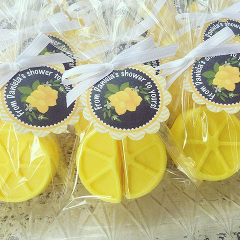 Lemon Soap Favors
