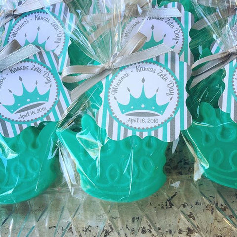 Princess or Prince Crown Soap Favors - Favors By Angelique
