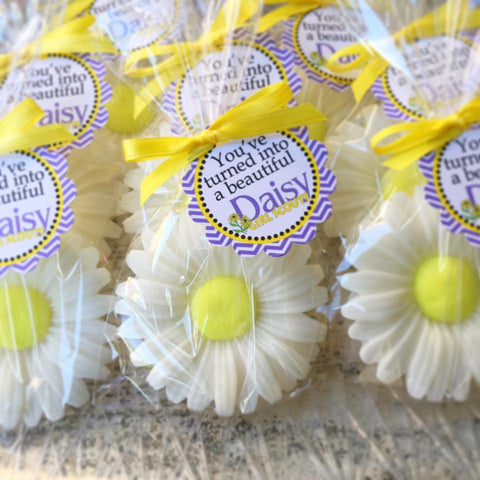 Daisy Soap Favors