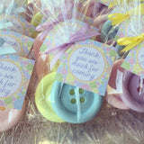 Button Soap Favors