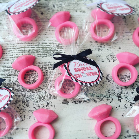 Diamond Ring Soap Favors - Favors By Angelique