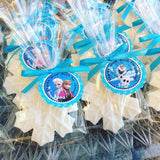 Snowflake Soap Favors