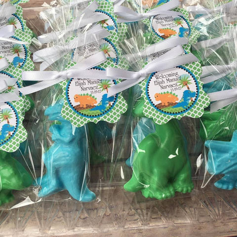 Dinosaur Soap Favors