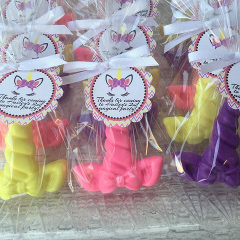 Unicorn Soap Favors