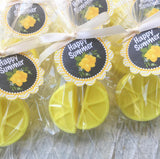 Pink Lemon Soap Party Favors - Favors By Angelique