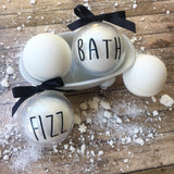 Rae Dunn Inspired Bath Bombs