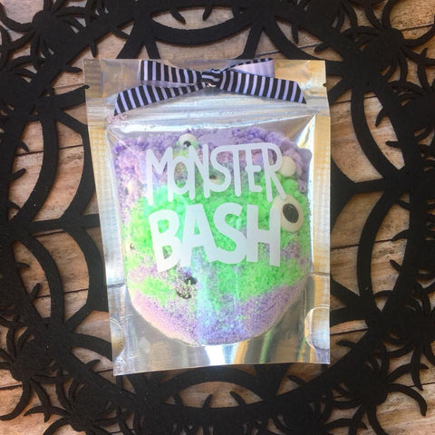 Monster Bash Halloween Bath Bomb Crumbles