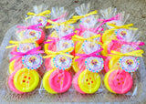 Cute as a Button Soap Favors - Favors By Angelique