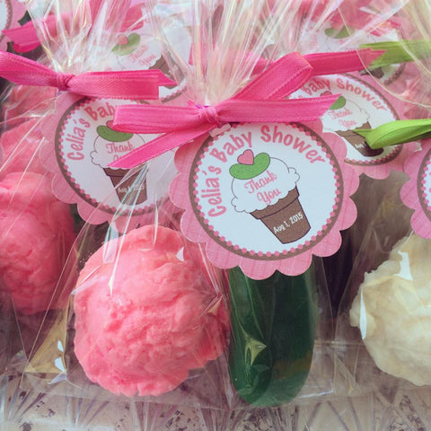 Pickles & Ice Cream Soap Favors