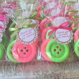 Cute as a Button Soap Favors
