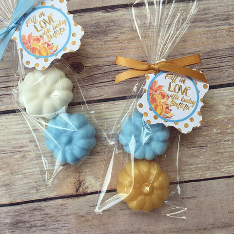 Pumpkin Soap Favors