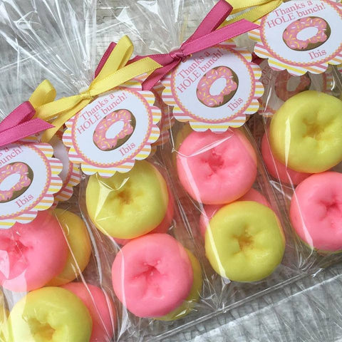 Donut Soap Party Favors
