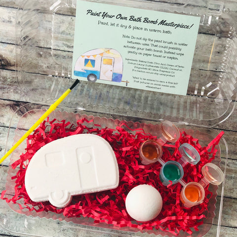 Camper Bath Bomb Paint Kit