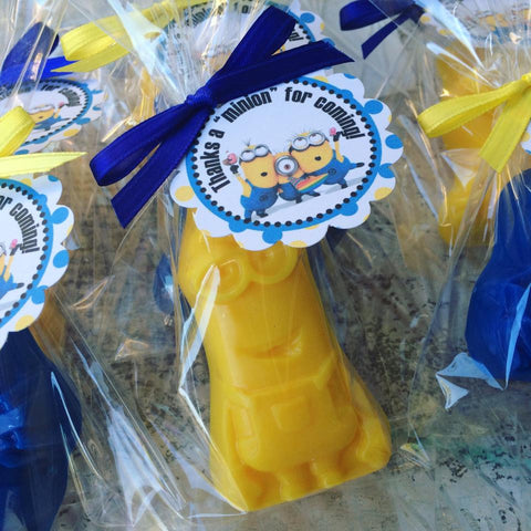 Minion Soap Favors - Favors By Angelique