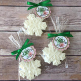 Snowflake Soap Favors - Favors By Angelique