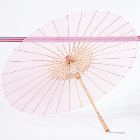 "Parasol Umbrella BRELLI  Pink Medium Parasol Umbrella 37"" Open"