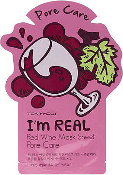 Face Mask Red Wine Skin Pore Care