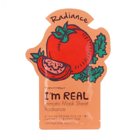 Face Mask Tomato Skin Radiance Care