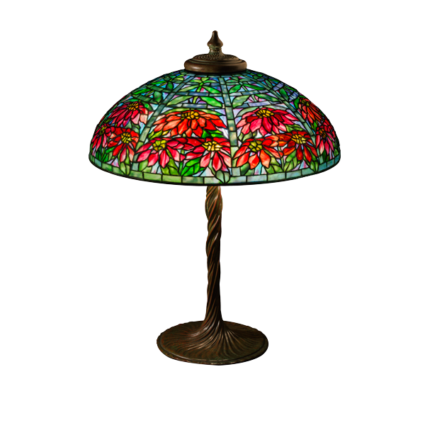 "Poinsettia shade (22"")"