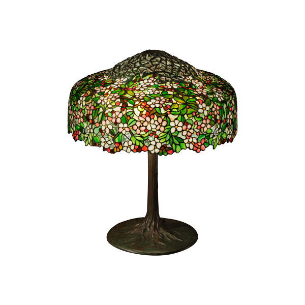"Apple Blossom table lamp (25"")"