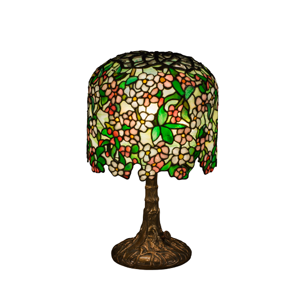 Peony Apple Blossom table lamp