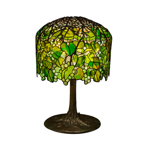 Grape table lamp