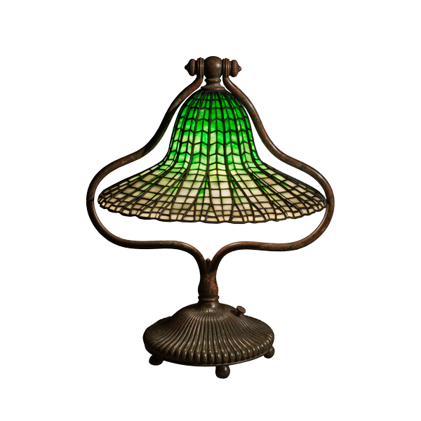 Bell Lamp and Lotus Shade