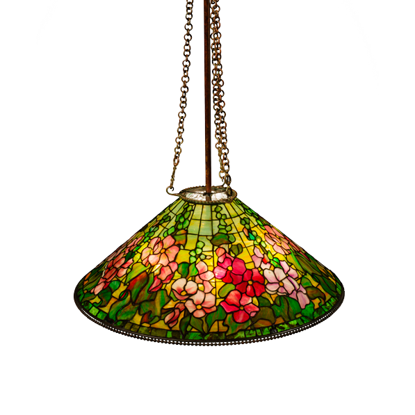 "Hollyhock hanging shade (28"")"
